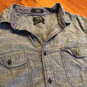 Nordstrom Long Sleeve Button up. 100% cotton. LG
